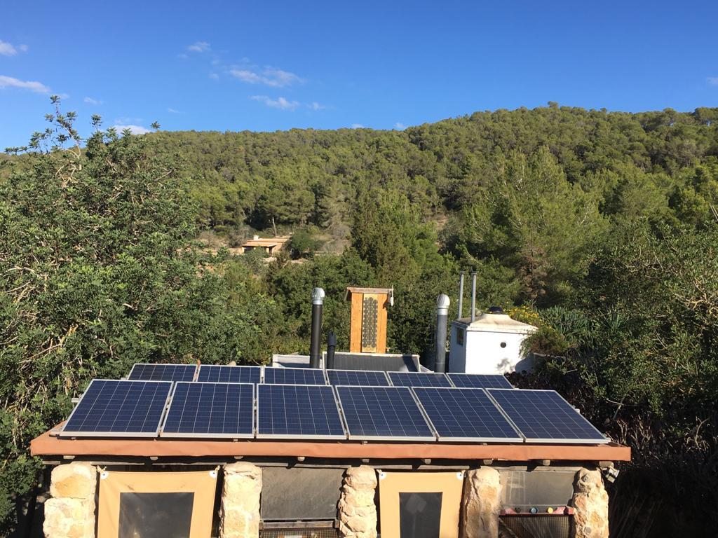 Solar System Casita Verde Ibiza